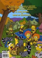 Verso de Les simpson (Jungle) -1- Camping en délire