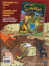 Verso de Les simpson (Jungle) -2- Un sacré foin !