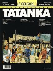 Verso de Le solitaire -3- Tatanka