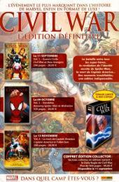 Verso de Spider-Man Hors Série (Marvel France puis Panini Comics, 1re série) -27- Le nouvel âge d'argent