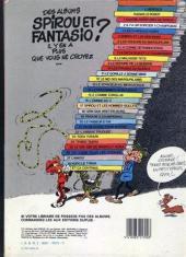 Verso de Spirou et Fantasio -11c84- Le gorille a bonne mine