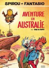 Verso de Spirou et Fantasio - Diptyques -FL- Virus / Aventure en Australie