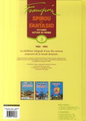 Verso de Spirou et Fantasio -6- (Int. Dupuis 2) -3- Voyages autour du monde