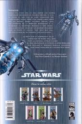 Verso de Star Wars - Jedi -7- Nomade