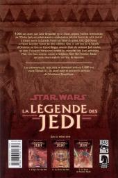 Verso de Star Wars - La légende des Jedi -3- Le sacre de Freedon Nadd