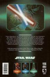 Verso de Star Wars - Legacy -3- Les Griffes du dragon