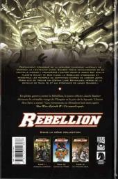 Verso de Star Wars - Rébellion -3- Du mauvais côté
