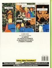 Verso de Stéphane Clément -5b- La malédiction de Surya