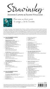 Verso de BD Classique -6- Stravinsky