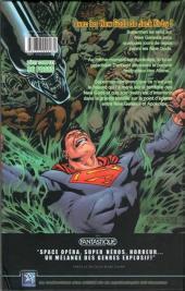 Verso de Superman versus Aliens -1- Godwar