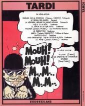 Verso de Tardi - Mouh mouh - Tardi