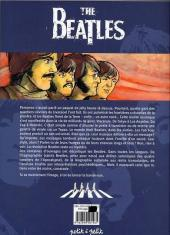 Verso de Beatles en bandes dessinées (The) - The Beatles en bandes dessinées
