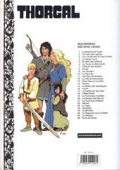 Verso de Thorgal -9Pub2- Les Archers