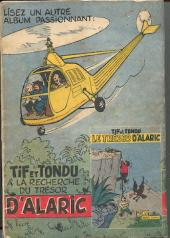 Verso de Tif et Tondu -2'- Tif et tondu en amerique centrale