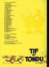 Verso de Tif et Tondu -Va2- Ne tirez pas sur