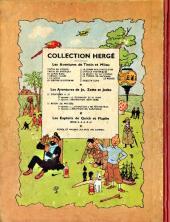 Verso de Tintin (Historique) -2B09- Tintin au Congo
