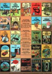 Verso de Tintin (Historique) -2C1- Tintin au Congo