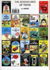 Verso de Tintin (The Adventures of) -14a- Prisoners of the Sun