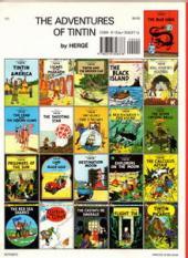 Verso de Tintin (The Adventures of) -22- Flight 714