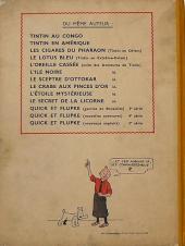 Verso de Tintin (Historique) -6A23- L'oreille cassée