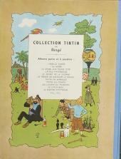 Verso de Tintin (Historique) -7B01- L'Île noire