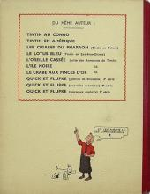 Verso de Tintin (Historique) -8A17- Le sceptre d'Ottokar