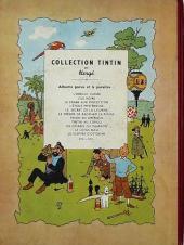 Verso de Tintin (Historique) -12B01'- Le trésor de Rackham Le Rouge
