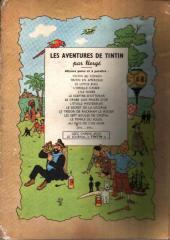 Verso de Tintin (Historique) -12B04- Le trésor de Rackham Le Rouge