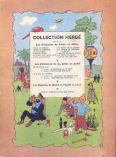 Verso de Tintin (Historique) -12B07- Le trésor de Rackham Le Rouge