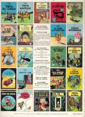 Verso de Tintin (Historique) -12C3- Le trésor de Rackham Le Rouge