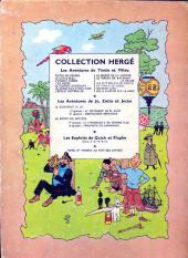 Verso de Tintin (Historique) -13B12- Les 7 boules de cristal