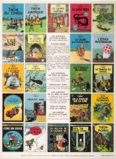 Verso de Tintin (Historique) -14C3ter- Le temple du soleil