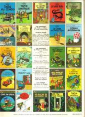 Verso de Tintin (Historique) -18C3- L'affaire Tournesol