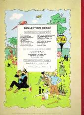 Verso de Tintin (Historique) -20B30- Tintin au Tibet