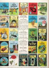 Verso de Tintin (Historique) -22C3bis- Vol 714 pour Sydney