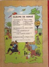 Verso de Tintin (Historique) -2B06- Tintin au Congo