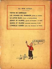 Verso de Tintin (Historique) -2A03- Tintin au Congo