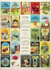 Verso de Tintin (Historique) -2C3- Tintin au Congo