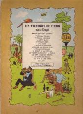 Verso de Tintin (Historique) -3B04- Tintin en Amérique