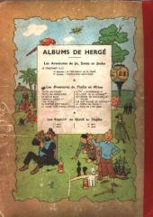 Verso de Tintin (Historique) -3B05- Tintin en Amérique