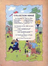 Verso de Tintin (Historique) -3B08- Tintin en Amérique