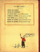 Verso de Tintin (Historique) -4A06- Les cigares du pharaon