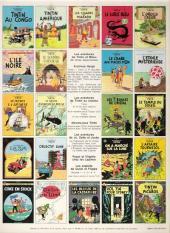 Verso de Tintin (Historique) -4C3- Les cigares du Pharaon