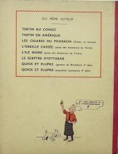 Verso de Tintin (Historique) -5A09- Le Lotus bleu
