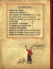 Verso de Tintin (Historique) -5A18- Le lotus bleu