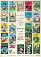 Verso de Tintin (Historique) -5C2- Le lotus bleu