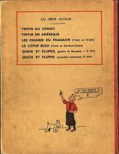 Verso de Tintin (Historique) -6A02- L'oreille cassée