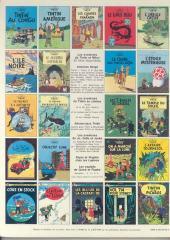Verso de Tintin (Historique) -6C3- L'oreille cassée