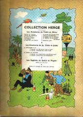 Verso de Tintin (Historique) -7B09- L'île noire