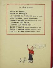 Verso de Tintin (Historique) -7A17Bis- L'Île noire